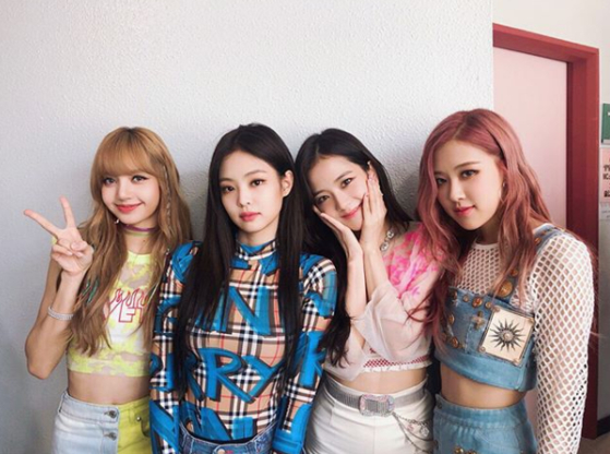 Photo from Instagram @blackpinkofficial
