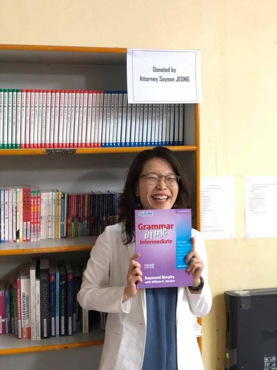 '보다 이니셔티브' 활동 중 하나로 캄보디아 캄퐁참(Kam pong Cham) 주 소재 웨스턴 대학(Western University) 도서관에 300권의 책을 기증했다.