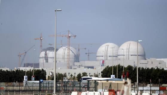 UAE 바라카 원전 1호기 [중앙포토]
