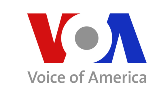 미국 연방정부가 운영하는 미국의 소리(VOA)로고. [사진 VOA 홈페이지]