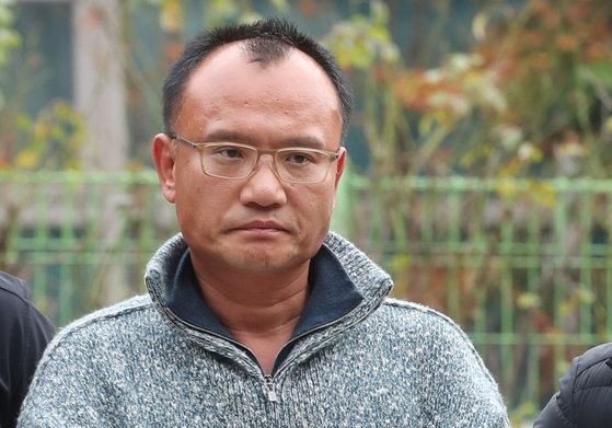 폭행과 강요, 마약류 관리에 관한 법률 위반 등의 혐의로 체포된 양진호 한국미래기술 회장. [연합뉴스]