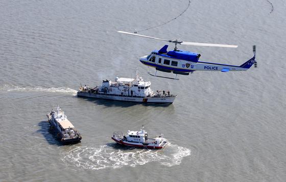 [현장기획]섬에서 외국인 범죄 발생하면…하늘에서 본 육해공 작전