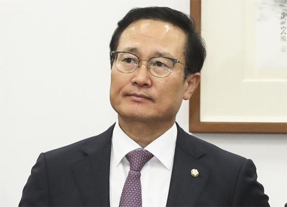 홍영표 더불어민주당 원내대표. 임현동 기자.