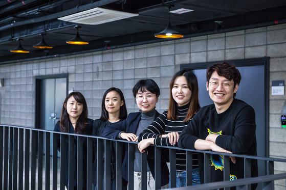 '아름다운 뉴스-서울 도시의 리듬'을 만든 팀A 멤버들. 한국콘텐츠진흥원 제공.