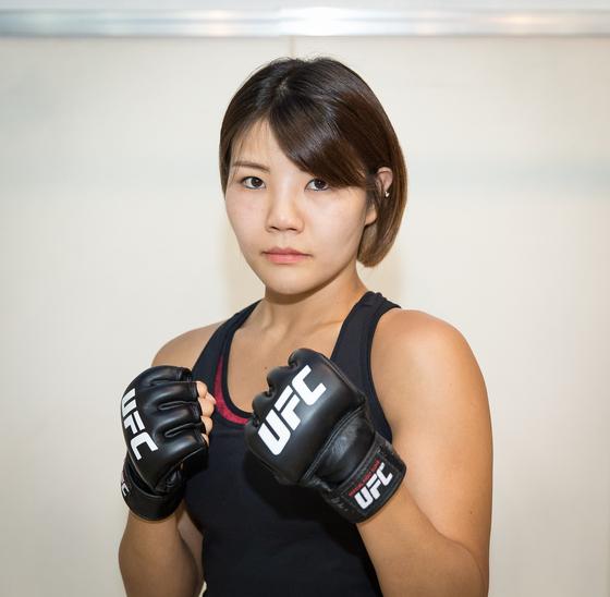 UFC 3연승 도전하는 인천 불주먹 김지연