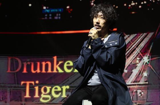 """타이거JK는 '새 앨범에 사물놀이 등 한국의 다양한 소리를 담기 위해 노력했다""""고 말했다. [연합뉴스]"""
