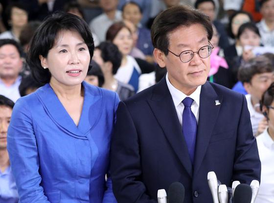 """김혜경 기소의견 송치에 심경 밝힌 이재명 """"불행한 예측이 현실이 됐다"""""""