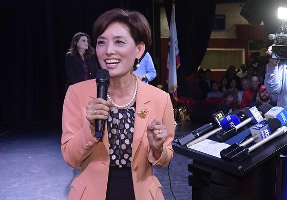 한인여성 최초 美 하원 도전 영 김 후보, 결국 낙선