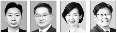 김태훈, 이용광, 김연주, 정상윤(왼쪽부터)