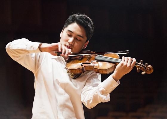 23일 프로코피예프 바이올린 협주곡 1번을 협연할 바이올리니스트 양인모. [사진 코리안심포니오케스트라]