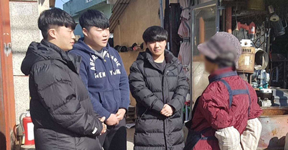 """""""우리 할머니가 생각나서…"""" 울산 묻지마폭행 막은 고교3인방"""