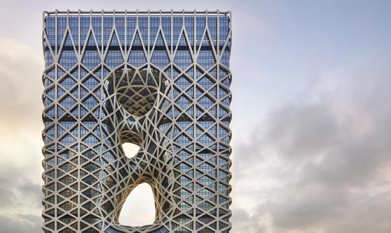 DDP 건축가 하디드의 유작 마카오 '모르페우스' 구석구석 탐방기