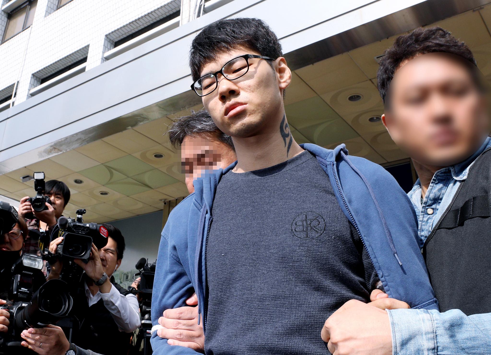 PC방 아르바이트생을 살해한 혐의로 구속된 피의자 김성수(29). [뉴스1]