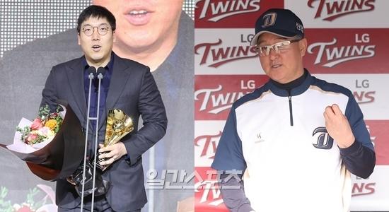 김현수는 김경문 전 NC감독을  은인 이라고 표현하기도 했다.