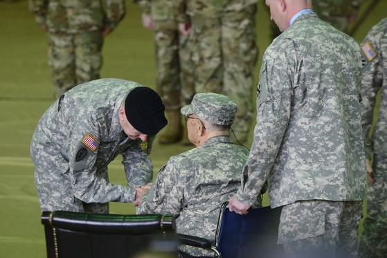 [단독] 미군은 노병을 잊지 않는다…내일 백선엽 깜짝 생일파티
