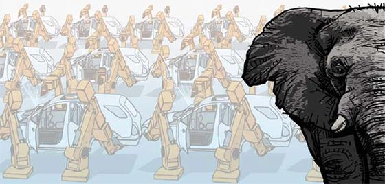 [취재일기]자동차·조선 실적이 회복되고 있다는 대통령의 상황 인식