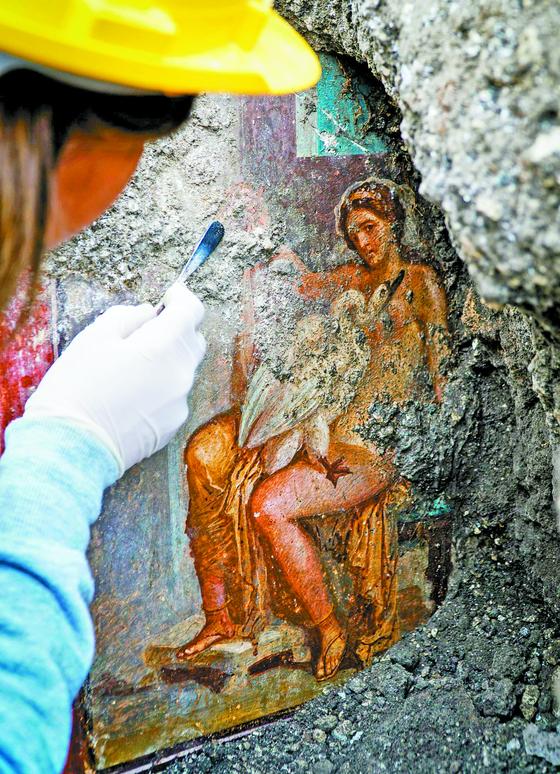 [사진] 2000년 전 폼페이 벽화