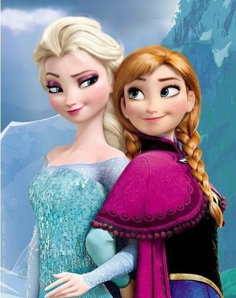 이쯤에서 다시 보는 영화 '겨울왕국' 엘사와 안나