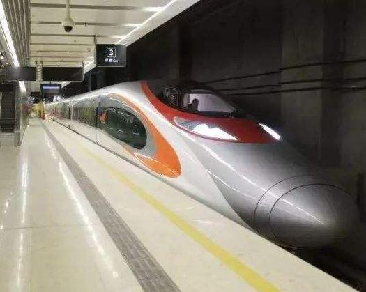 홍콩 웨스트카우룽역에 도착한 중국의 고속열차. [차이나랩]