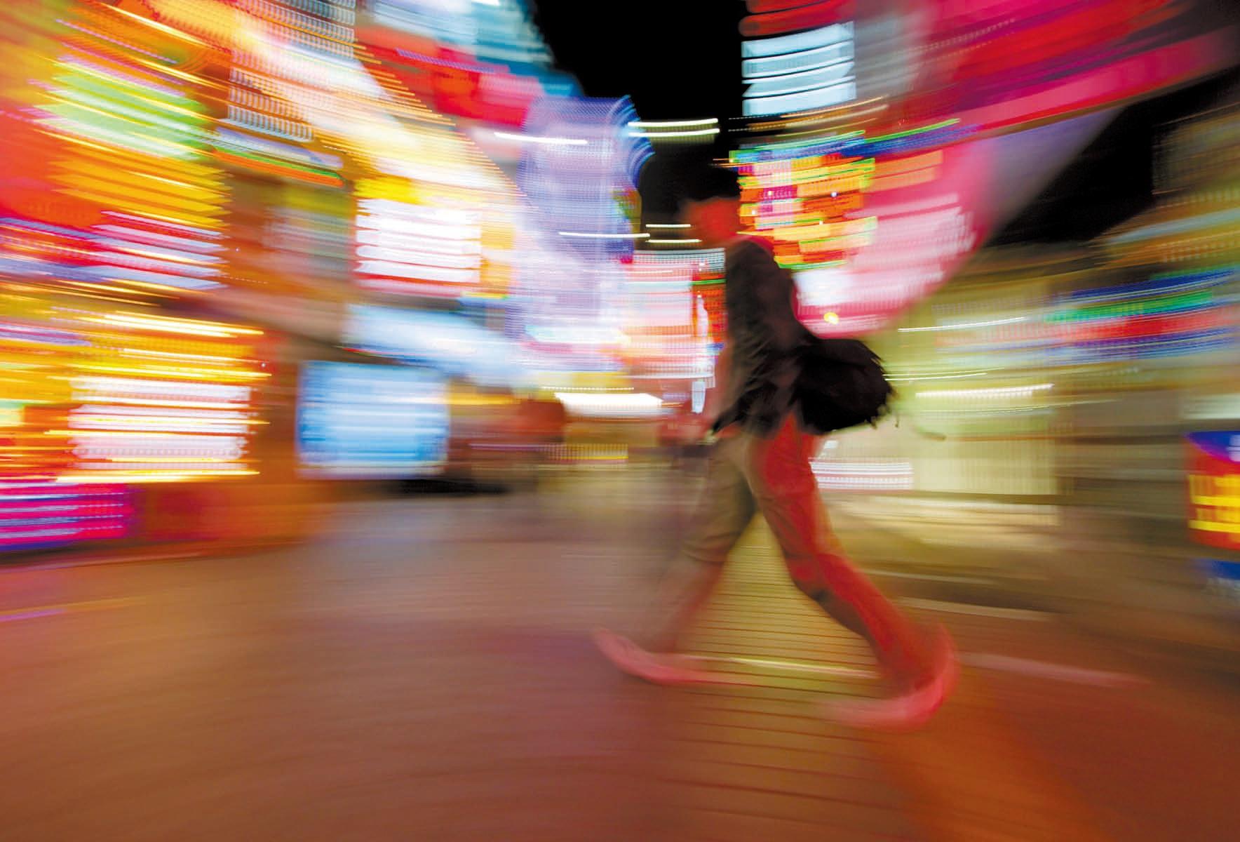 조명박물관의 2006년 빛공해 사진 공모전에서 우수상을 받은 박영진씨의 도시인 [중앙포토]