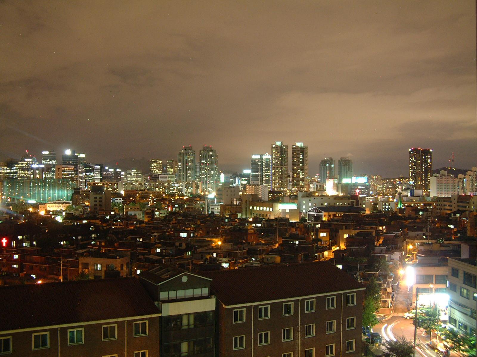 밤에도 너무 밝은 도시의 밤. 도시에 사는 생물들은 영향을 받을 수밖에 없다. 강찬수 기자