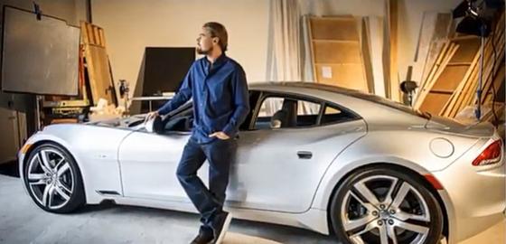 디캐프리오의 하이브리드 자동차 사랑은 프리우스에 이어 핀란드의 피스커 카르마로 이어졌다. 그는 양산차 1호의 주인이 됐다. [사진 피스커 오토모티브]