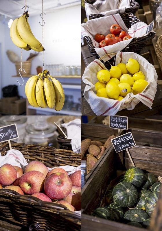 무농약·유기농 식재료를 취급한다. 송경호 대표는 식료품의 면모를 키우고 싶어 한다.