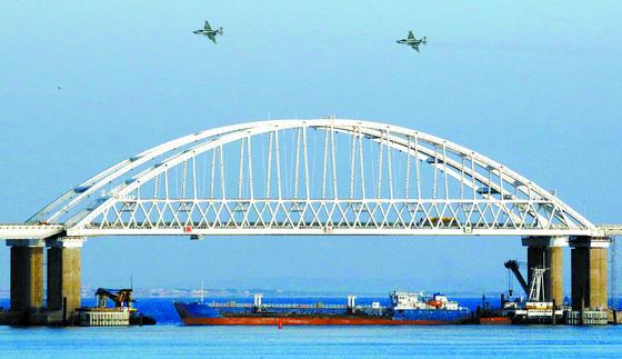 러시아, 벌크선으로 우크라이나 통행 봉쇄