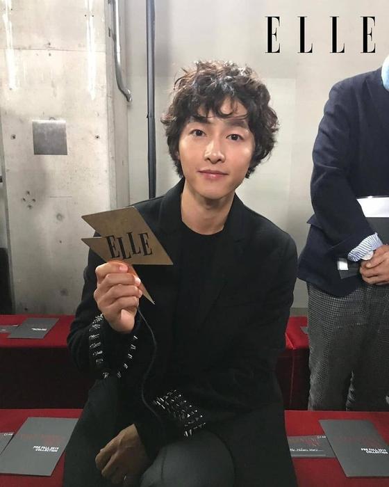 Photo from ELLE Korea