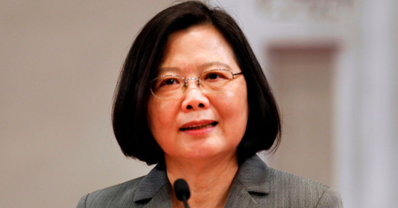 차이잉원 대만 총통. [AP=연합뉴스]