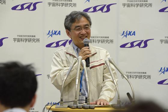 소행성 탐사선 하야부사2 프로젝트를 책임하고 있는 요시카와 마코토 JAXA 매니저. [사진 JAXA]