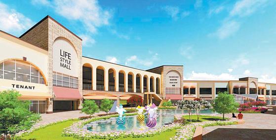 프리미엄 아울렛 기흥점은 '자연을 담은 쇼핑 놀이터'란 콘셉트 아래 그린뷰 레스토랑, 서핑샵, 펫파크 등을 갖춘 쉼이 있는 쇼핑공간이다. [사진 롯데백화점]