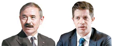 해리 해리스(左), 조슈아 멜처(右)
