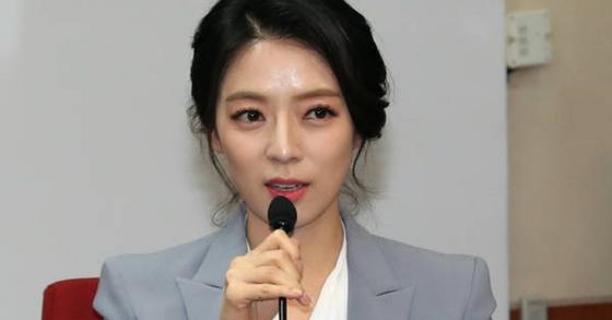배현진 자유한국당 대변인. 변선구 기자