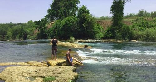 미얀마 샨주 시포의 남투 강 [연합뉴스]