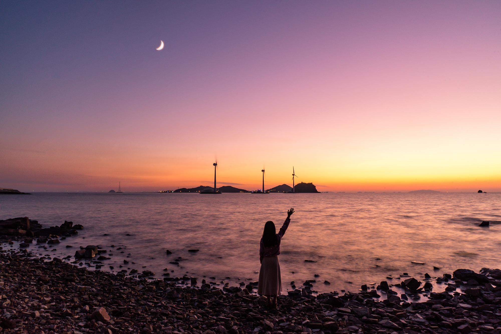 한국에서 낙조가 가장 아름다운 바다로 꼽히는 경기도 안산 대부도. [사진 한국관광공사]
