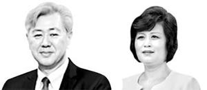 앤드루김(左), 김성혜(右)