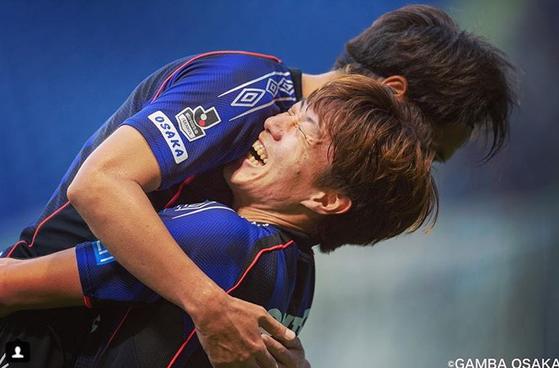 빛의조 황의조, 일본 J리그 월간 MVP