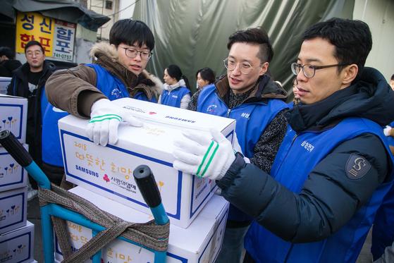 삼성, 전국 쪽방 밀집촌 찾아 봉사활동
