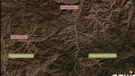 북한 영저동 미사일기지 위성사진 [CNN=News1]