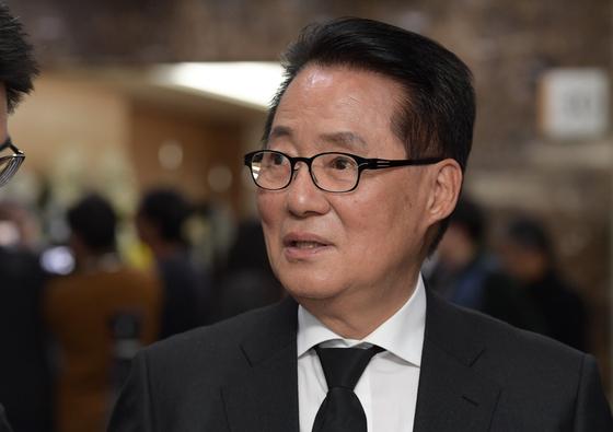 박지원 민주평화당 의원 [뉴스1]