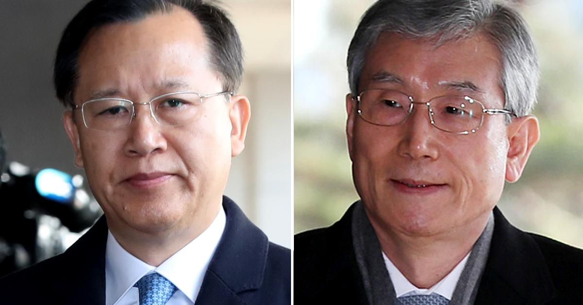 박병대 전 대법관(왼쪽)과 고영한 전 대법관. [중앙포토, 연합뉴스]