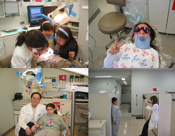 아이들의충치 치료는 빠르게 끝내기보다 몇 개월에 한 번씩 천천히 진행하는게 좋다. 아이가 점점 치과 의료진에 친숙해져 치료과정의 공포심을 떨칠 수 있게되기 때문이다. [사진 전승준]