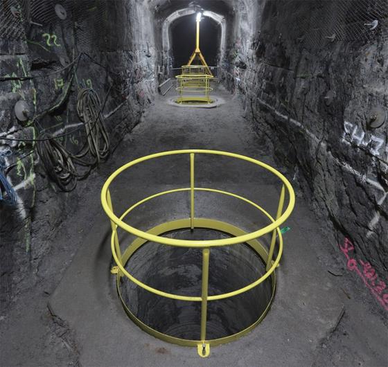 핀란드 올킬루오토에 건설 중인 세계 최초의 사용후핵연료 영구처리시설인 '온칼로' 공사 현장. / 사진:Posiva 제공