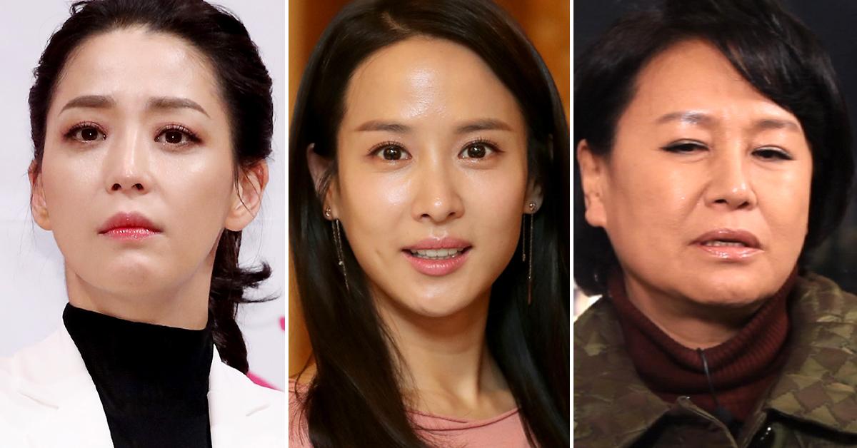 왼쪽부터 배우 한고은, 조여정, 박원순. [중앙포토, 일간스포츠, 연합뉴스]
