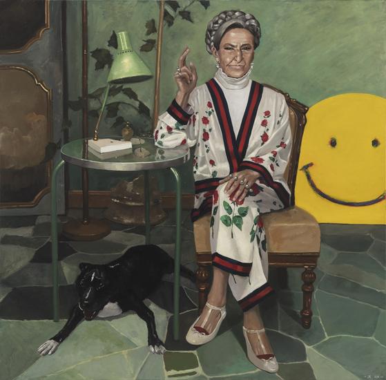 Redeemer, oil on canvas, 150x150cm, 2018