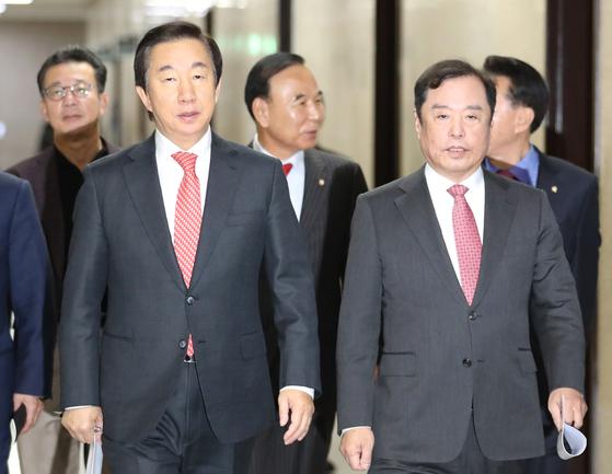 세월호 참사 무기로만 썼다···달라진 김병준 독설, 왜