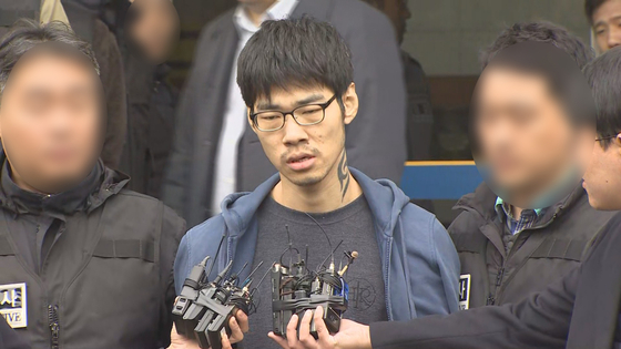 강서구 PC방 살인사건 피의자 김성수 [사진 연합뉴스]