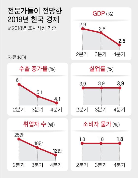 "KDI 두달째 ""경기 둔화""…전문가들 ""내년 2.5% 성장"""