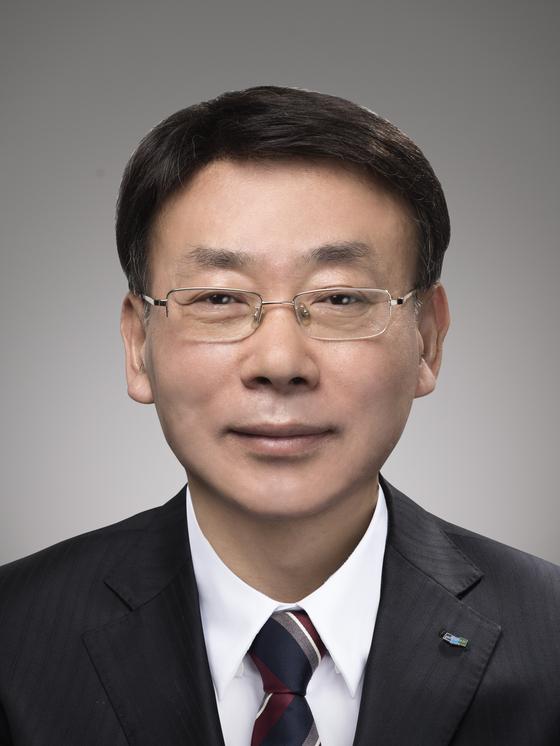 10일 사의를 표명한 두산중공업의 김명우 대표. [사진 두산중공업]